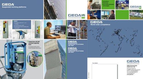 Brochure GEDA AB