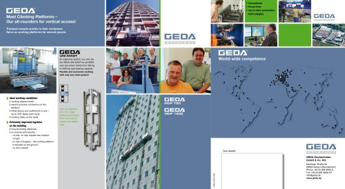 Brochure GEDA MCP