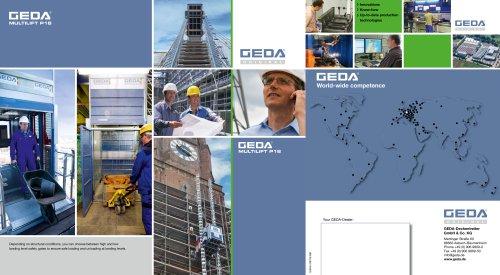 Brochure GEDA multilift P18