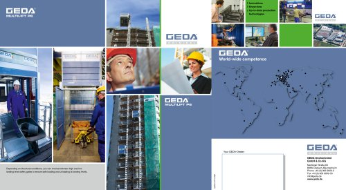 Brochure GEDA Multilift P6