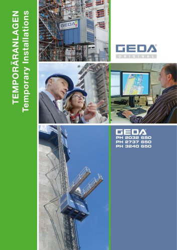 Brochure GEDA PH Range