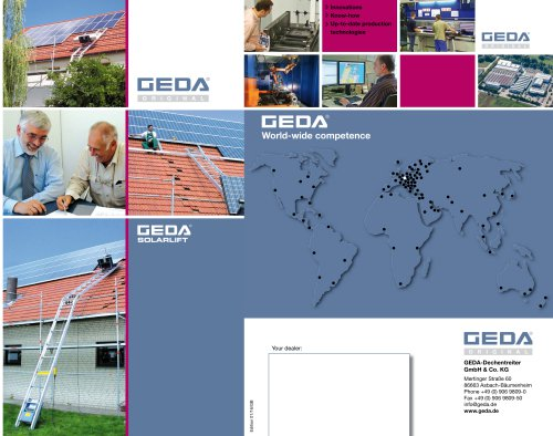 Brochure GEDA Solarlift
