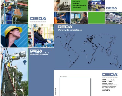 Brochure GEDA Star