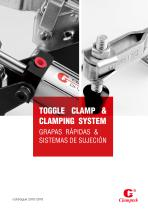CLAMPTEK Vertical Handle Toggle Clamps apply in Automobile manufacture,all kinds of automotive body&frame,Foad molds Catalog