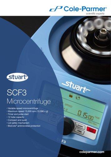SCF3 Microcentrifuge