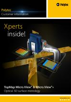 Flyer TopMap Micro.View(+) optical 3D surface metrology for roughness, texture and microstructure analysis