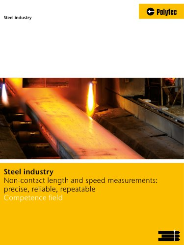 Steel Industry Solutions | Measure speed and length