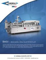 Bench Model Single Valve Piston Filler