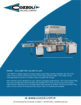 Volumetric Inline Filler