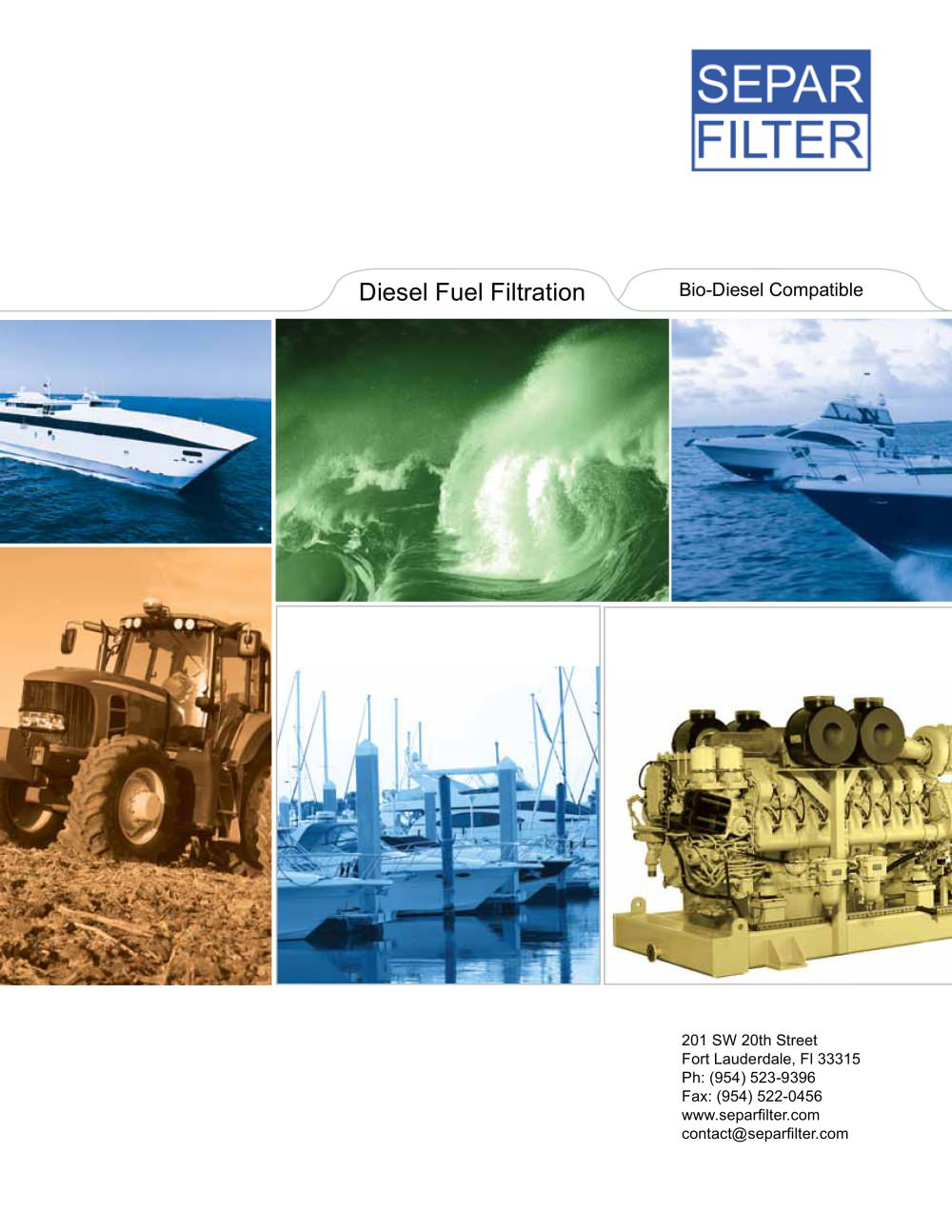 Separ Of The Americas Catalog Llc Pdf Peterson Fuel Filters 1 30 Pages