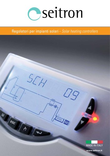 solar heating plants controllers