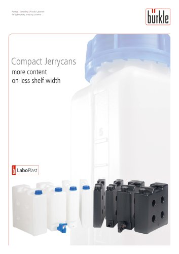 Compact jerrycan