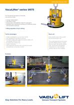 the self-suction VacuLifter® U075 - 1
