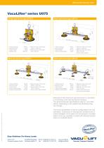 the self-suction VacuLifter® U075 - 2