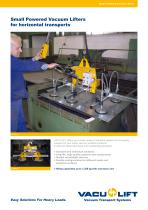 Small Powered Vacuum Lifters for horizontal transports - 1
