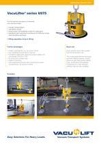 VacuLifter ®  series U075 - 1