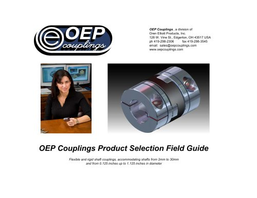 OEP Couplings Product Selection Field Guide