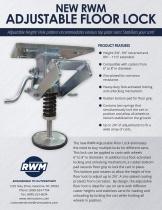 Adjustable Floor Lock Flyer - 1