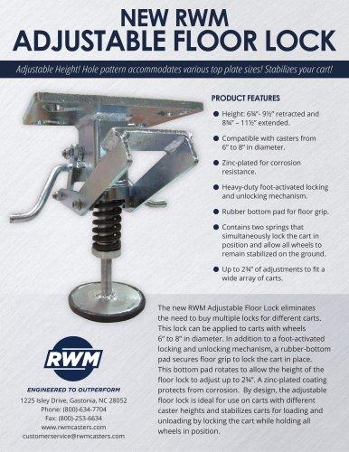 Adjustable Floor Lock Flyer