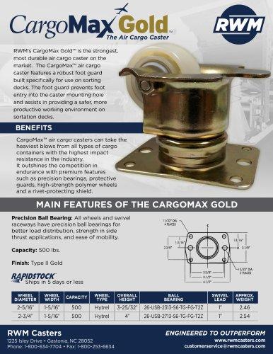 CargoMax Gold™