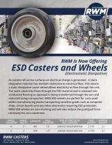 ESD Casters and Wheels - 1