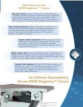 Heavy Duty Casters Brochure - 3