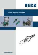 Floor welding systems