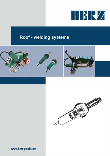 Roof- welding systems