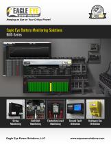 Eagle Eye Battery Monitoring Solutions Catalog