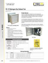 VS-12 Hydrogen Gas Exhaust Fan