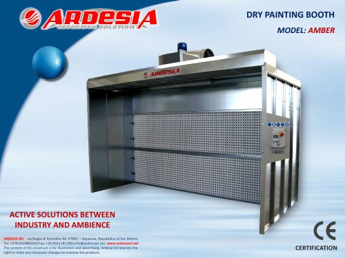 Dry painting booths - AMBER