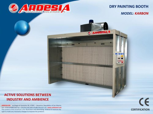 Dry painting booths - KARBON