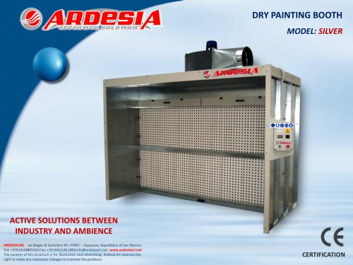 Dry painting booths - SILVER