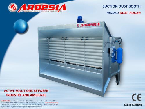Suction dust booths - DUST ROLLER