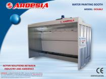 Water painting booths