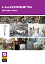 Clean air for hospitals - We care for health