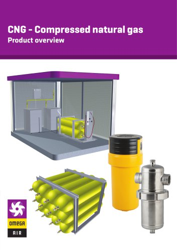 CNG - Compressed natural gas - Product overview