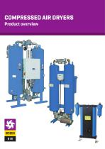 COMPRESSED AIR DRYERS - Product overview
