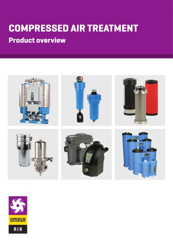 Compressed air treatment-Product overview - Leaflet