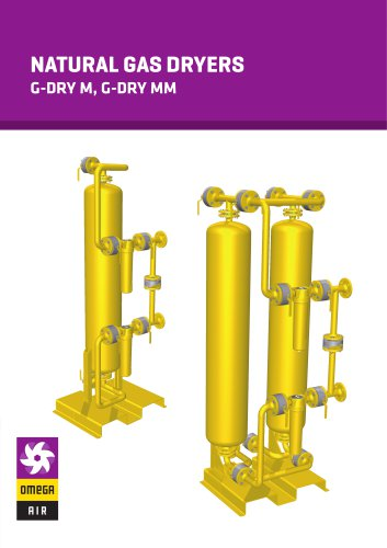 NATURAL GAS DRYERS - G-DRY M, G-DRY MMCNG