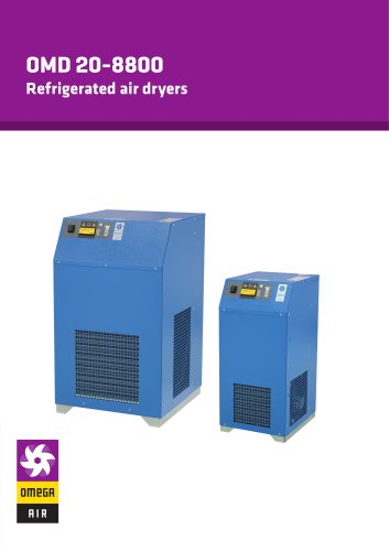 OMD 20-8800 - Refrigerated air dryers