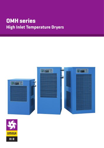 OMH series - High Inlet Temperature Dryers
