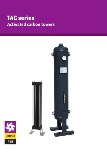 TAC series - Activated carbon towers