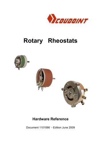 Coudoint Rotary Rheostats Documentation