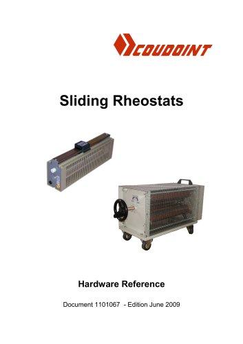 Coudoint Sliding Rheostats Documentation