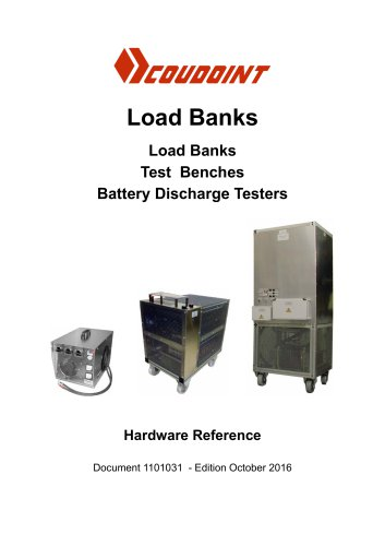 Load Banks Load Banks Test Benches Battery Discharge Testers