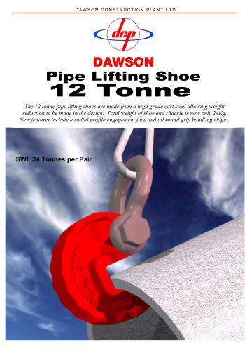 Pipe lifting shoe 12 Tonne