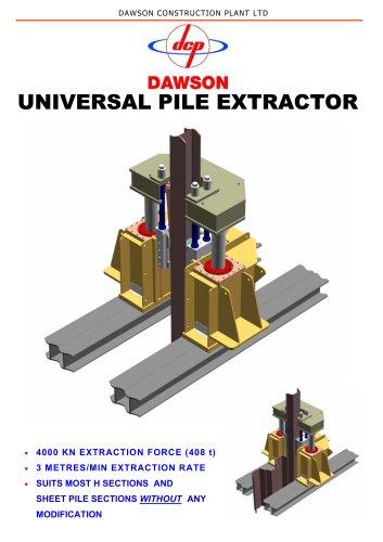 UNIVERSAL PILE EXTRACTOR