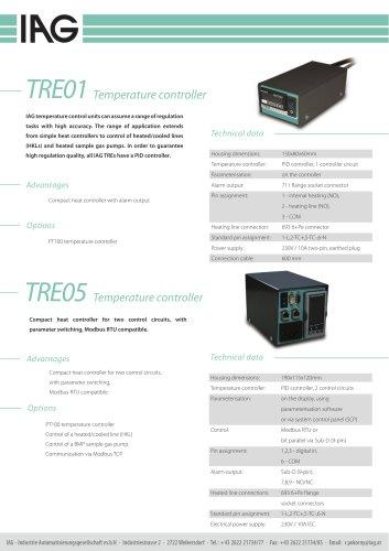 TRE-Temperature controllers