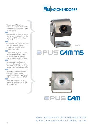OPUS Cameras Technical Data